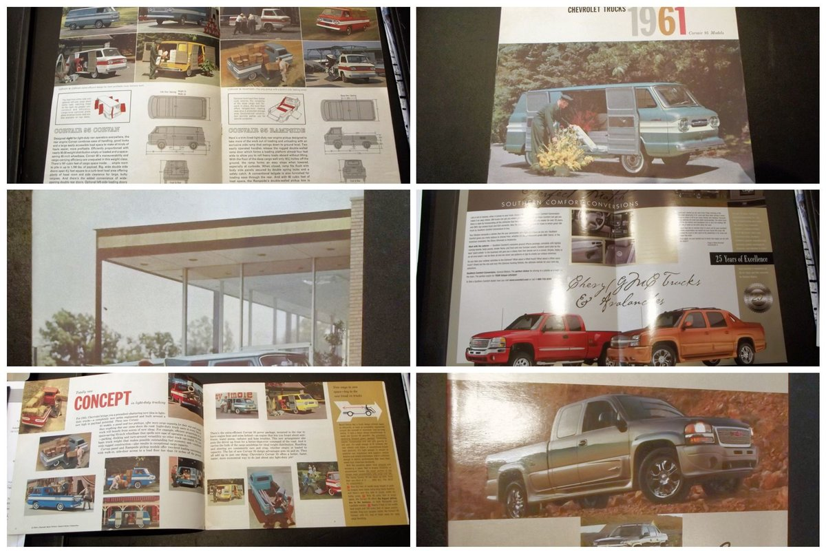0000 CHEVROLET SALES BROCHURES ETC FOR SALE For Sale (picture 6 of 12)