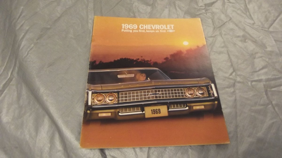 0000 CHEVROLET SALES BROCHURES ETC FOR SALE For Sale (picture 7 of 12)
