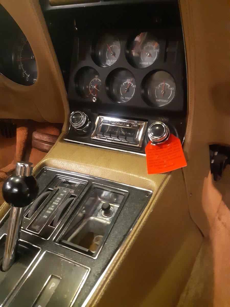 1975 Corvette stingray  restored For Sale (picture 3 of 4)