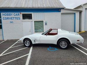 Picture of 1976 White Corvette Red Interior For Sale For Sale