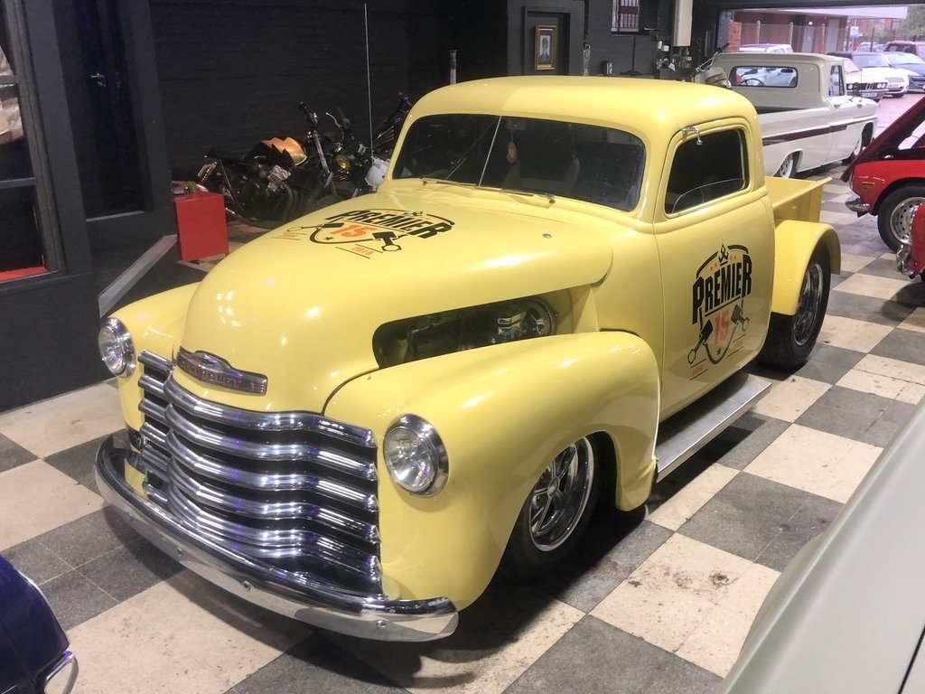1948 CHEVROLET 3100 // Custom American Hot Rod // PICK UP For Sale (picture 9 of 10)