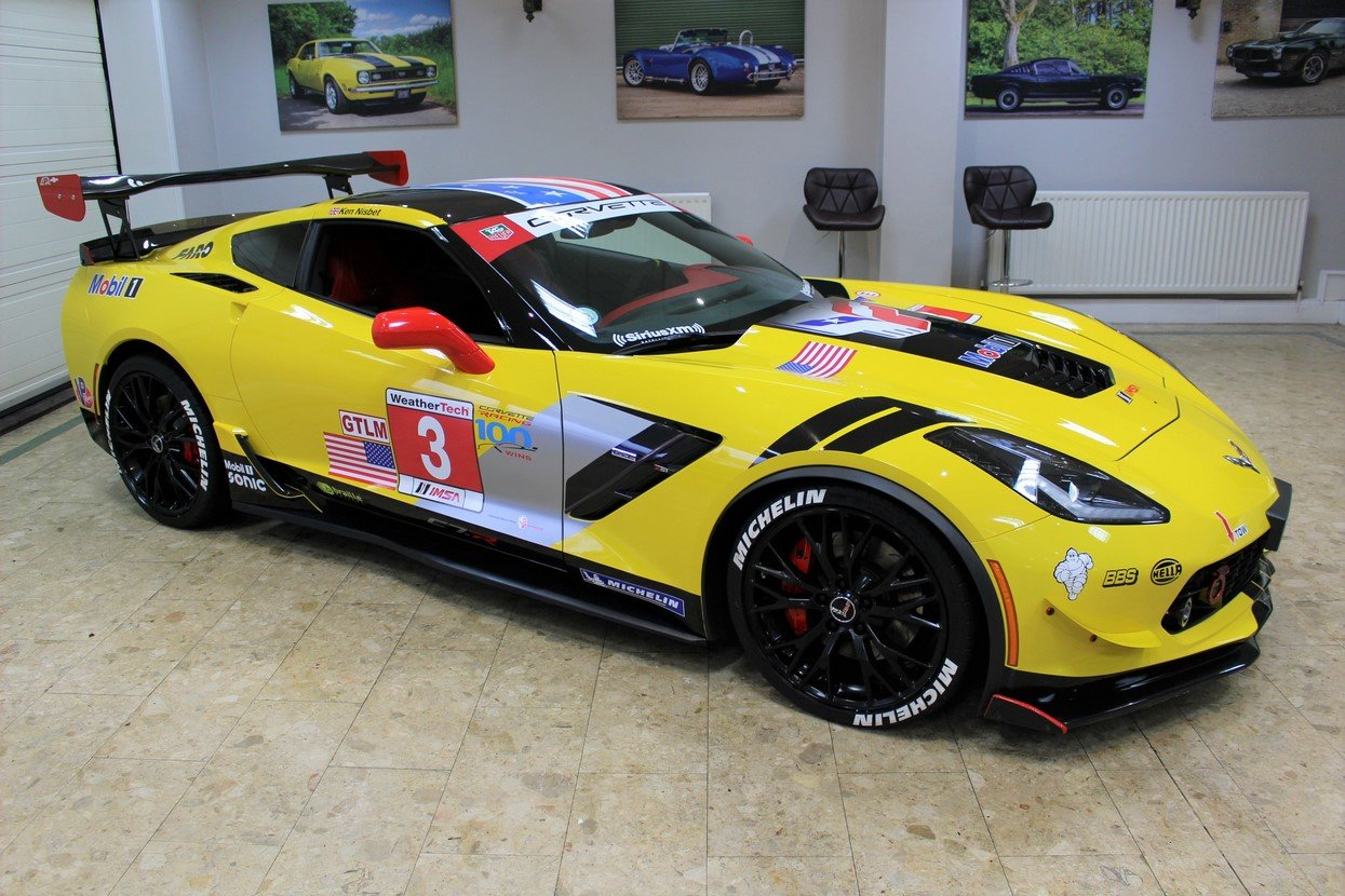 2014 Corvette Stingray C7 Z51 3LT - C7.R Homage Manual For Sale (picture 4 of 25)