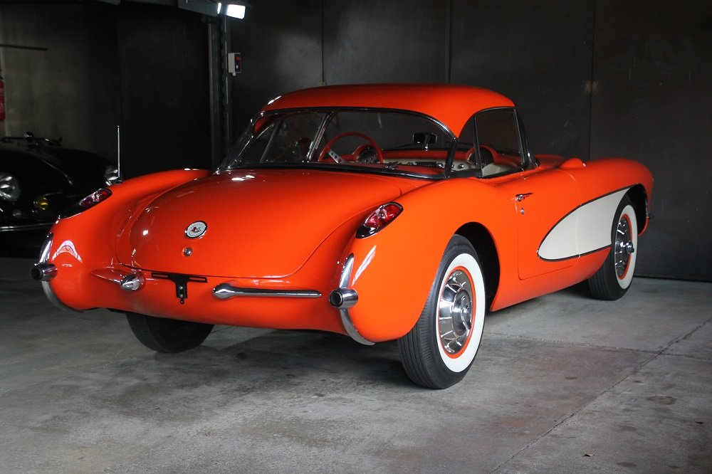 1957 Corvette C1 283cui / 270 HP Version / 57 years same owner For Sale (picture 2 of 12)
