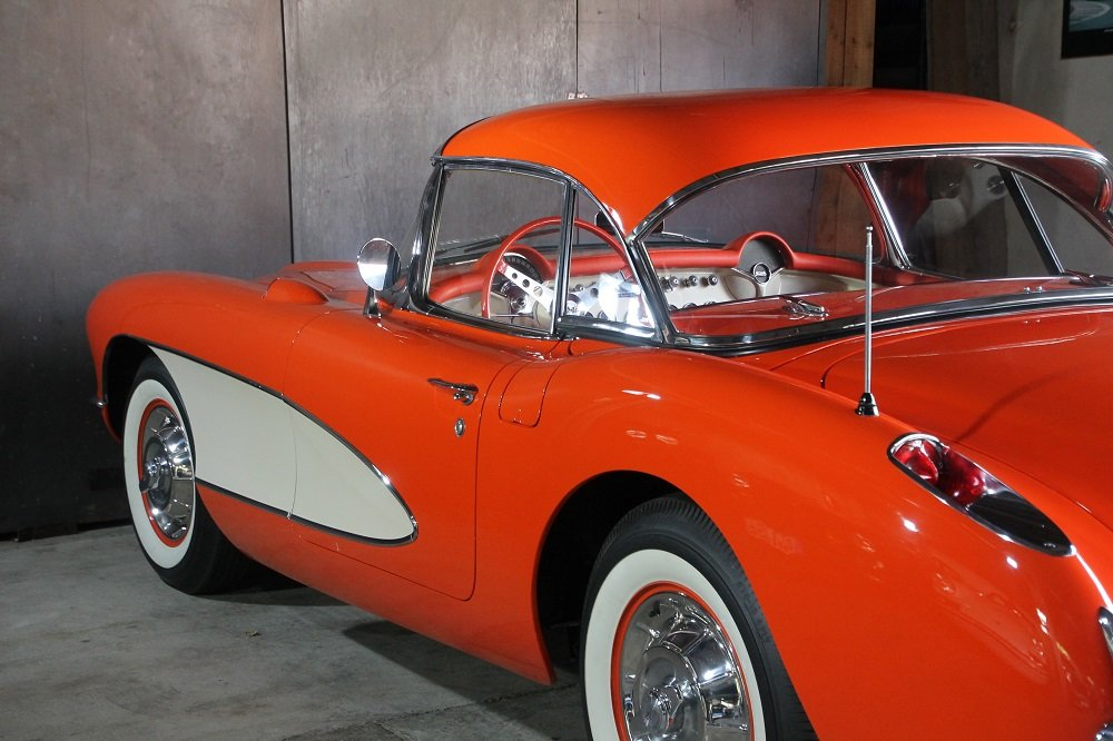 1957 Corvette C1 283cui / 270 HP Version / 57 years same owner For Sale (picture 5 of 12)
