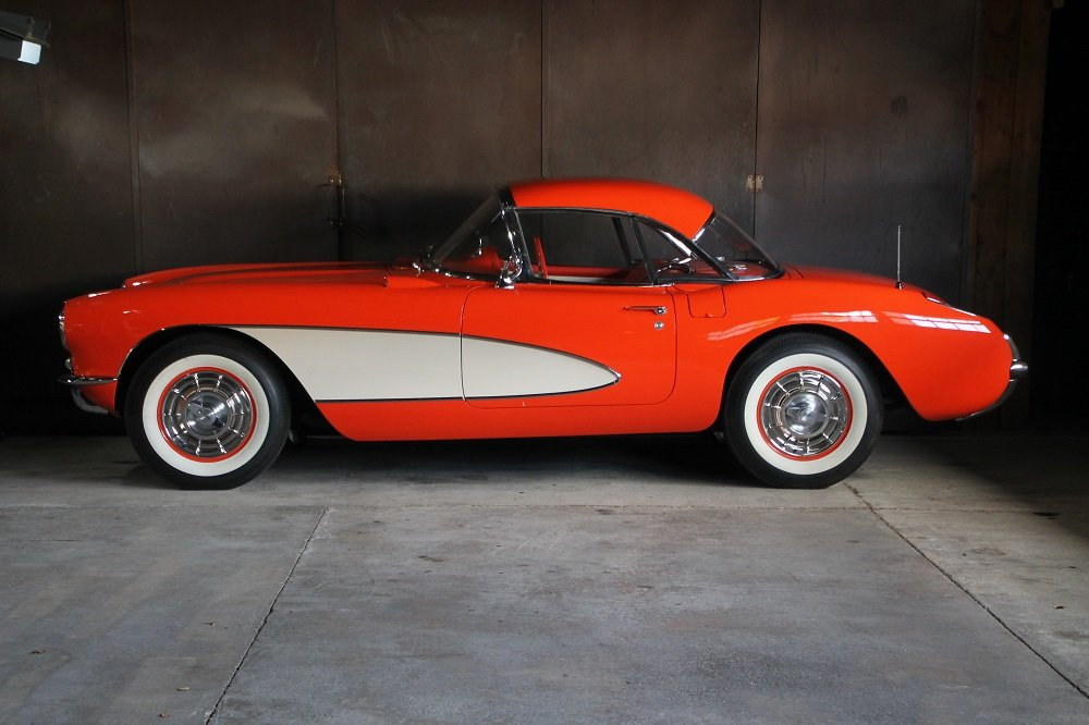 1957 Corvette C1 283cui / 270 HP Version / 57 years same owner For Sale (picture 7 of 12)