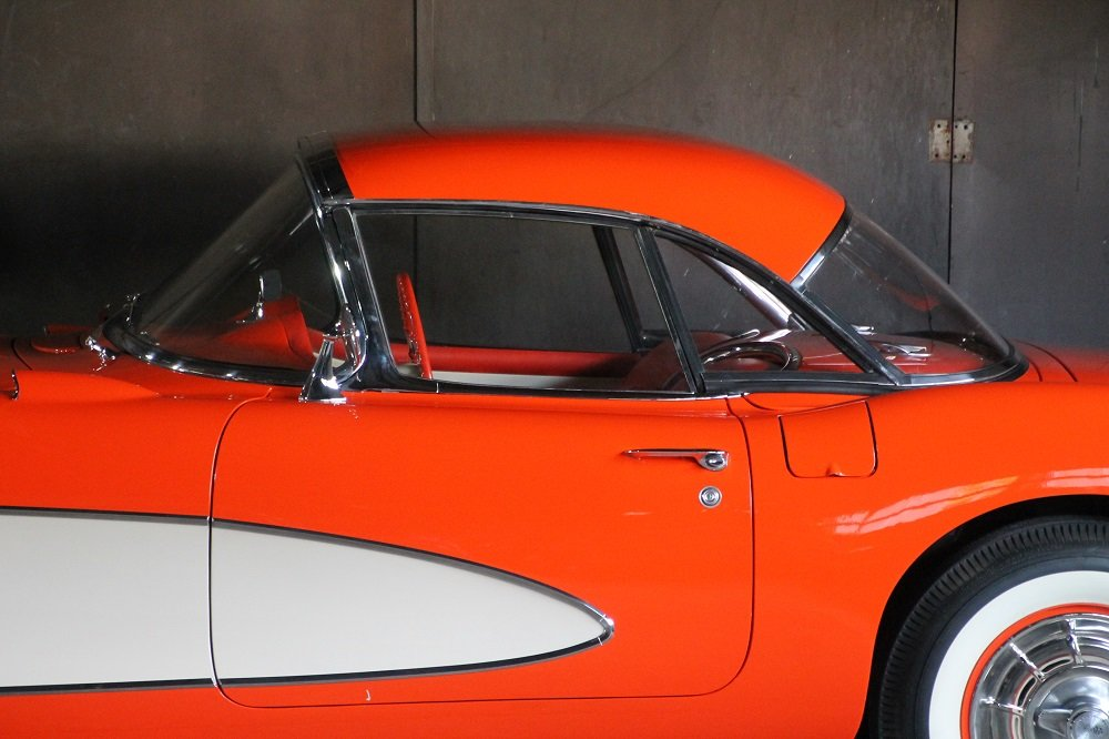 1957 Corvette C1 283cui / 270 HP Version / 57 years same owner For Sale (picture 8 of 12)
