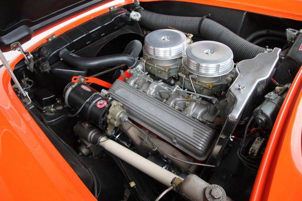 1957 Corvette C1 283cui / 270 HP Version / 57 years same owner For Sale (picture 12 of 12)