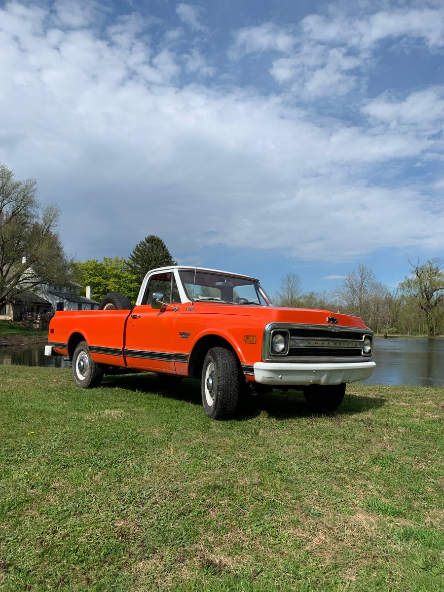 1970 Chevrolet C20 pick-up For Sale (picture 1 of 10)