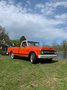 1970 Chevrolet C20 pick-up