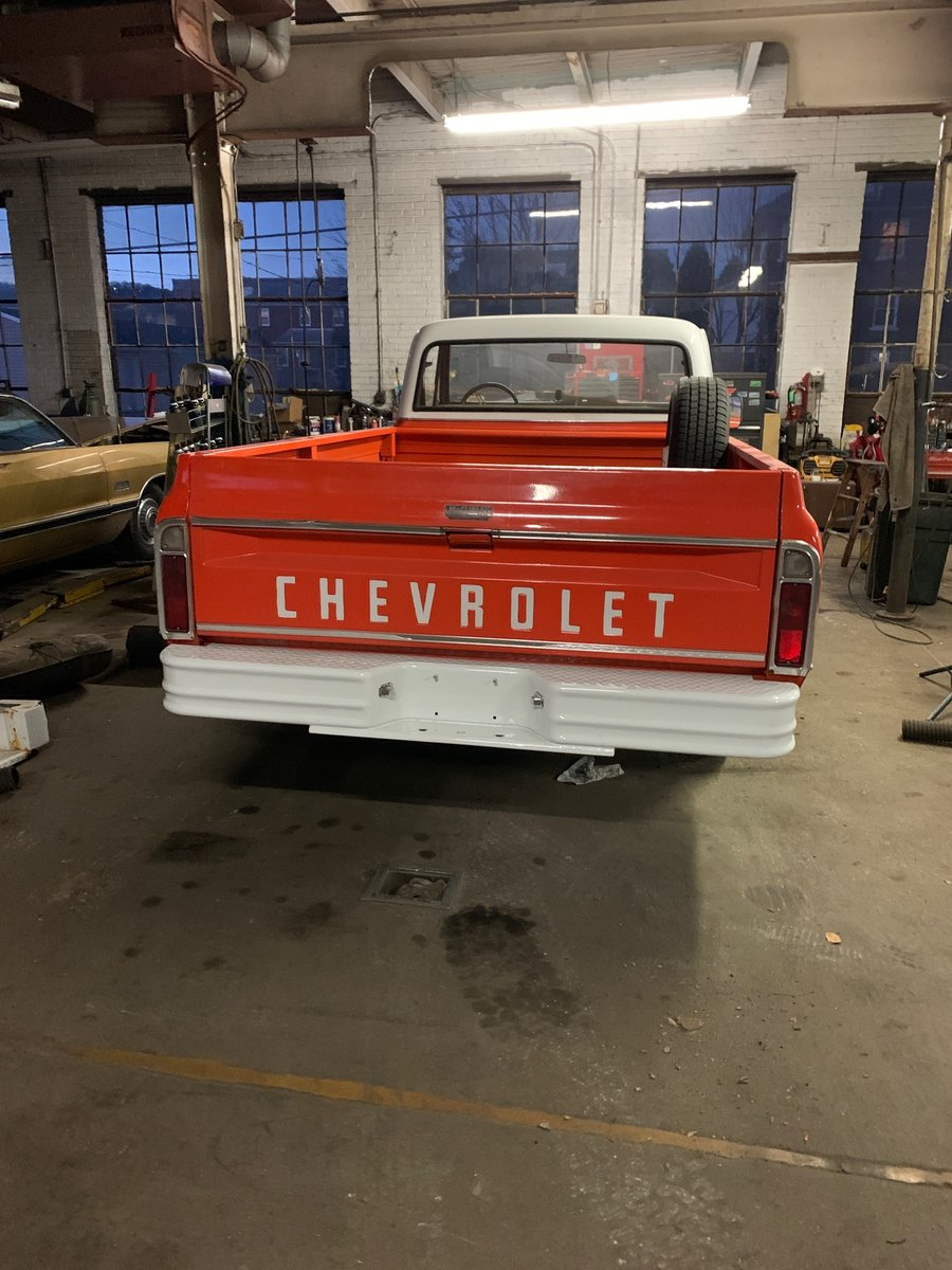 1970 Chevrolet C20 pick-up For Sale (picture 2 of 10)