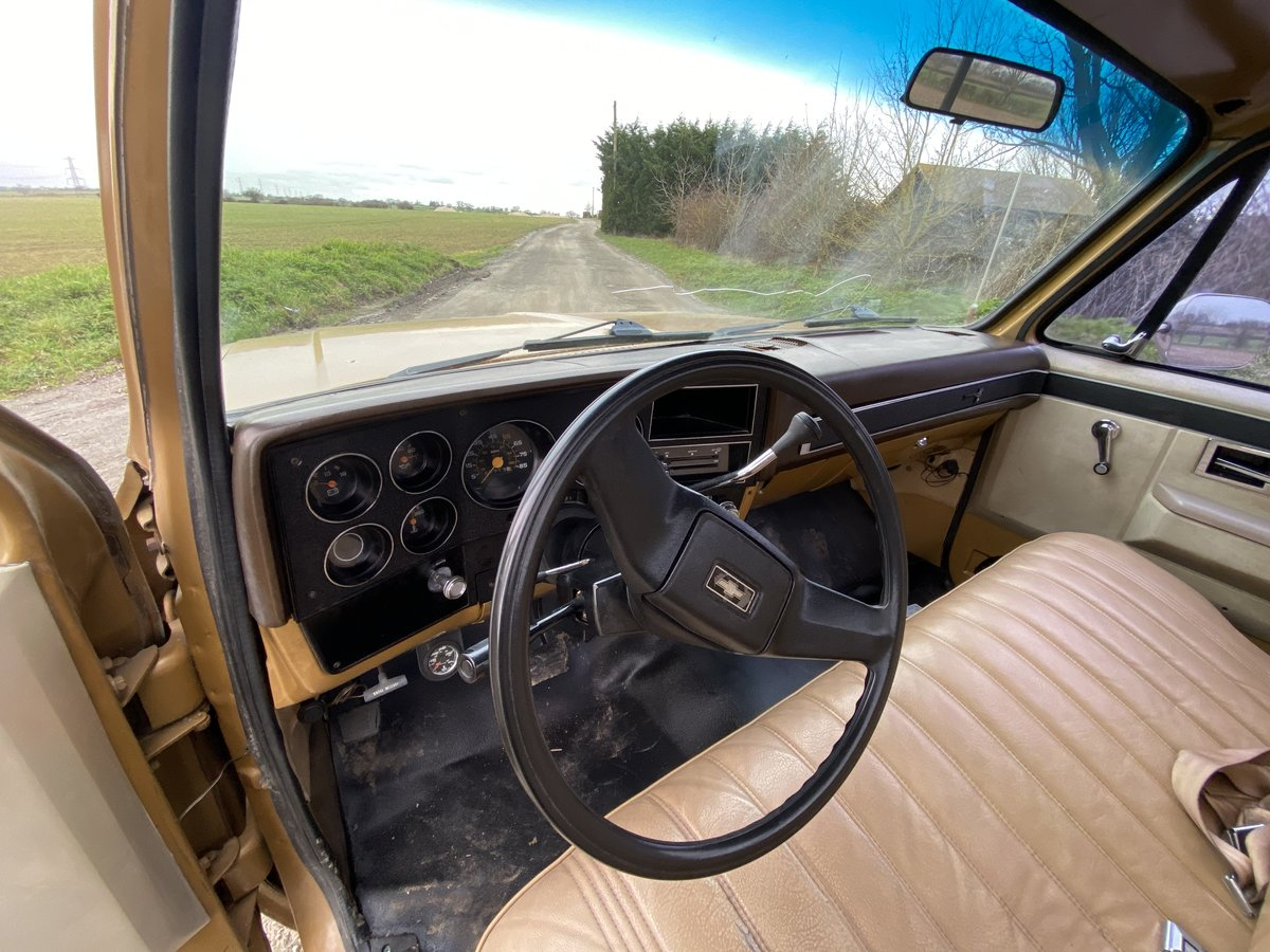 1984 Chevy C10 Scottsdale Auto PROJECT For Sale (picture 7 of 12)
