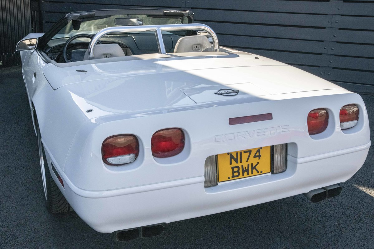 1996 Chevrolet Corvette C4 Convertible - low mileage For Sale (picture 12 of 23)