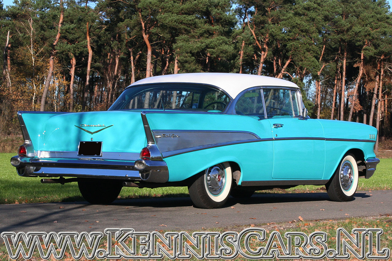 Chevrolet 1957 Bel Air Sport Coupe For Sale (picture 7 of 12)