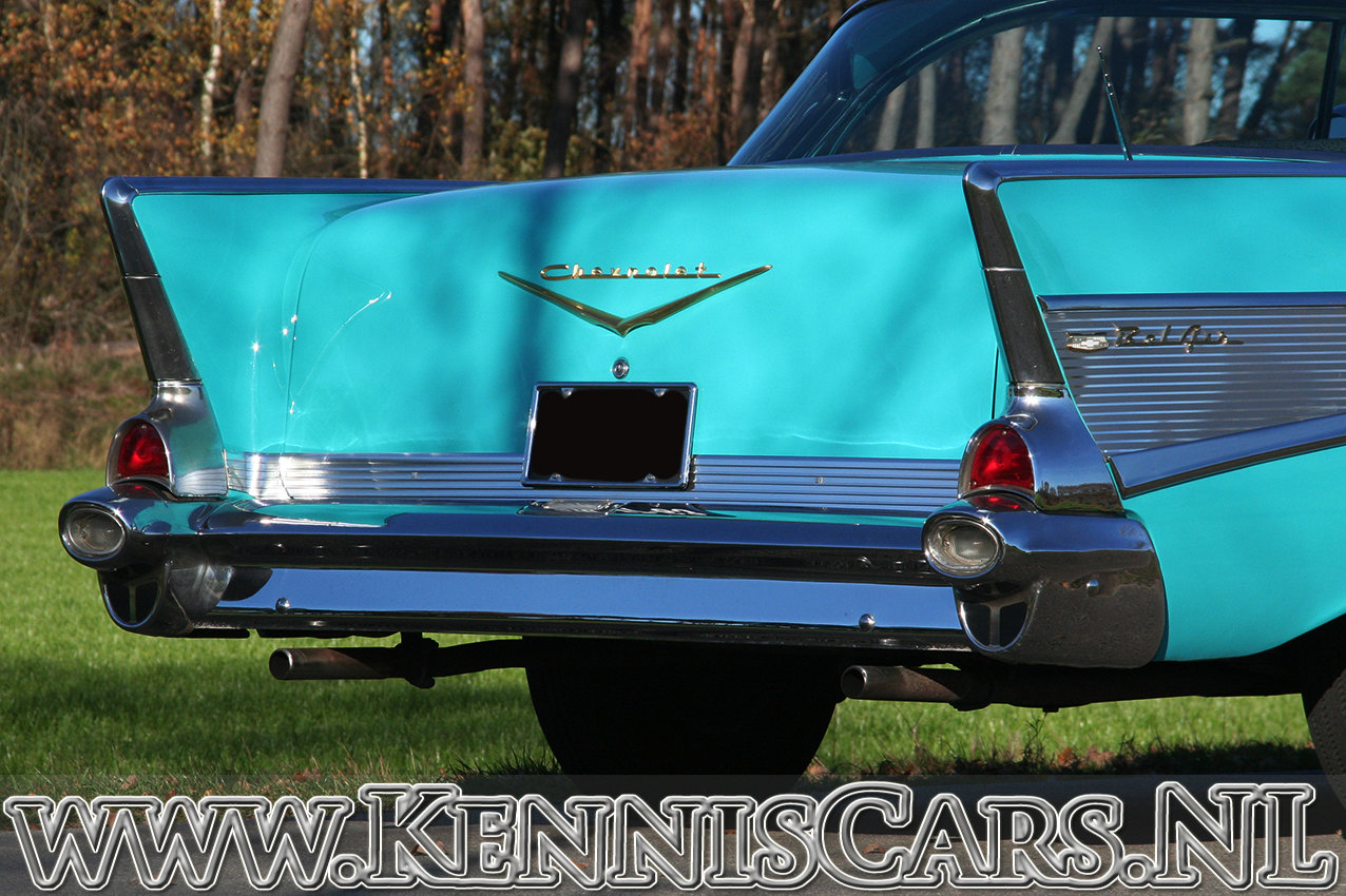 Chevrolet 1957 Bel Air Sport Coupe For Sale (picture 12 of 12)