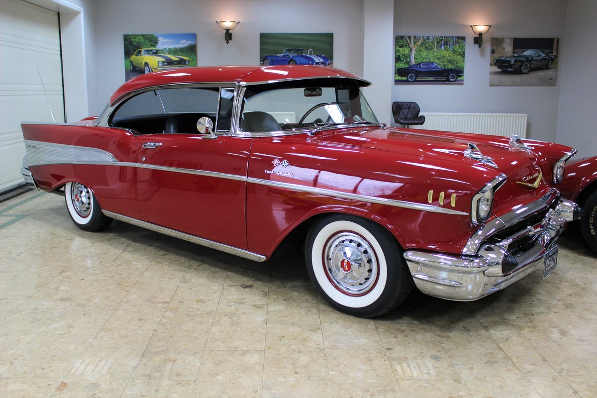 1957 Chevrolet Bel-Air Restomod Coupe LT1 5.7 V8 Auto For Sale (picture 2 of 25)