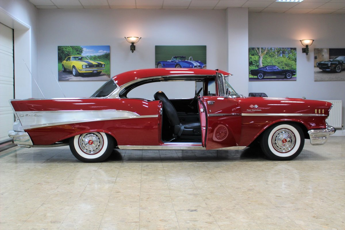 1957 Chevrolet Bel-Air Restomod Coupe LT1 5.7 V8 Auto For Sale (picture 4 of 25)