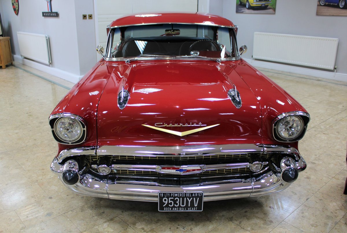 1957 Chevrolet Bel-Air Restomod Coupe LT1 5.7 V8 Auto For Sale (picture 7 of 25)