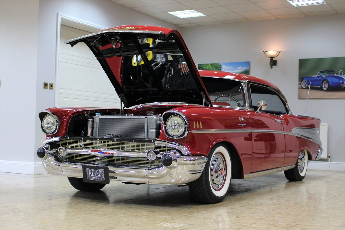 1957 Chevrolet Bel-Air Restomod Coupe LT1 5.7 V8 Auto For Sale (picture 8 of 25)