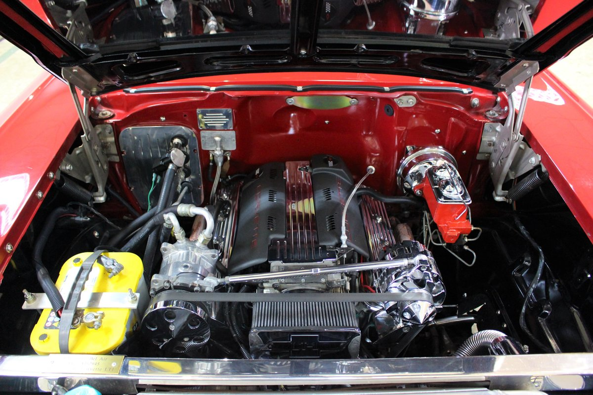 1957 Chevrolet Bel-Air Restomod Coupe LT1 5.7 V8 Auto For Sale (picture 10 of 25)