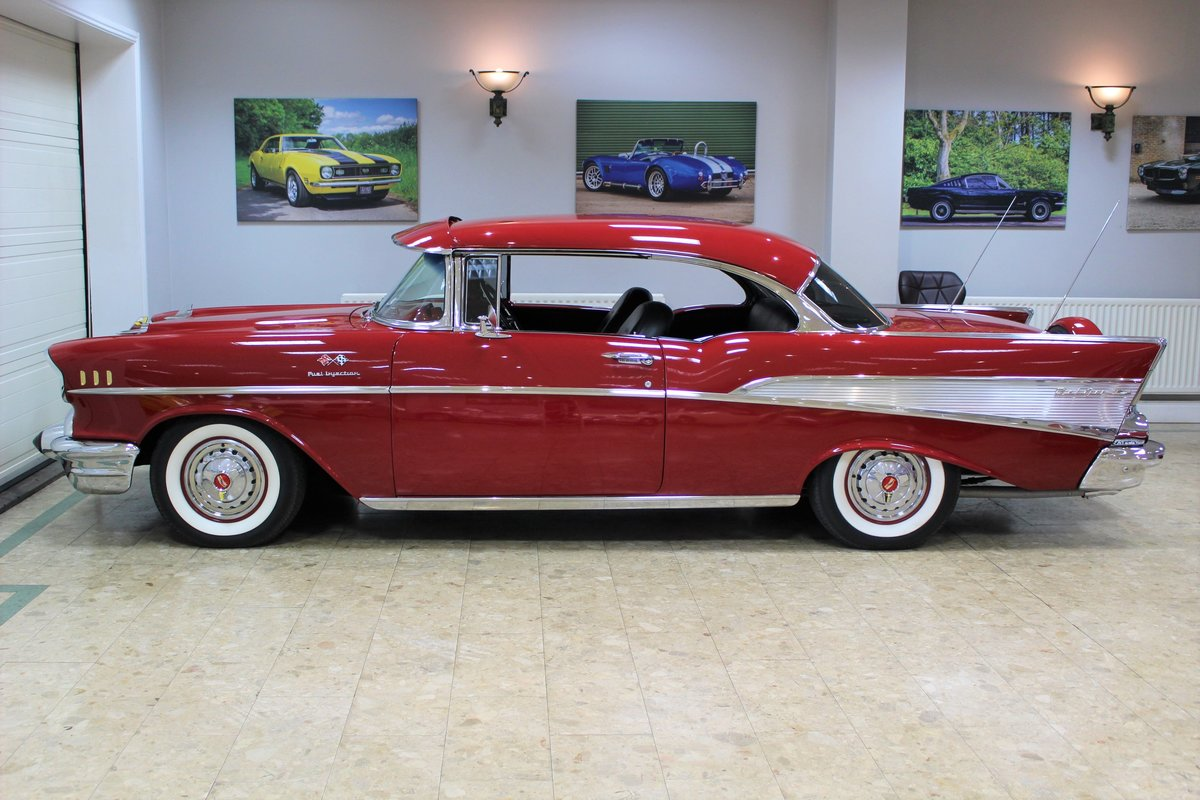 1957 Chevrolet Bel-Air Restomod Coupe LT1 5.7 V8 Auto For Sale (picture 12 of 25)