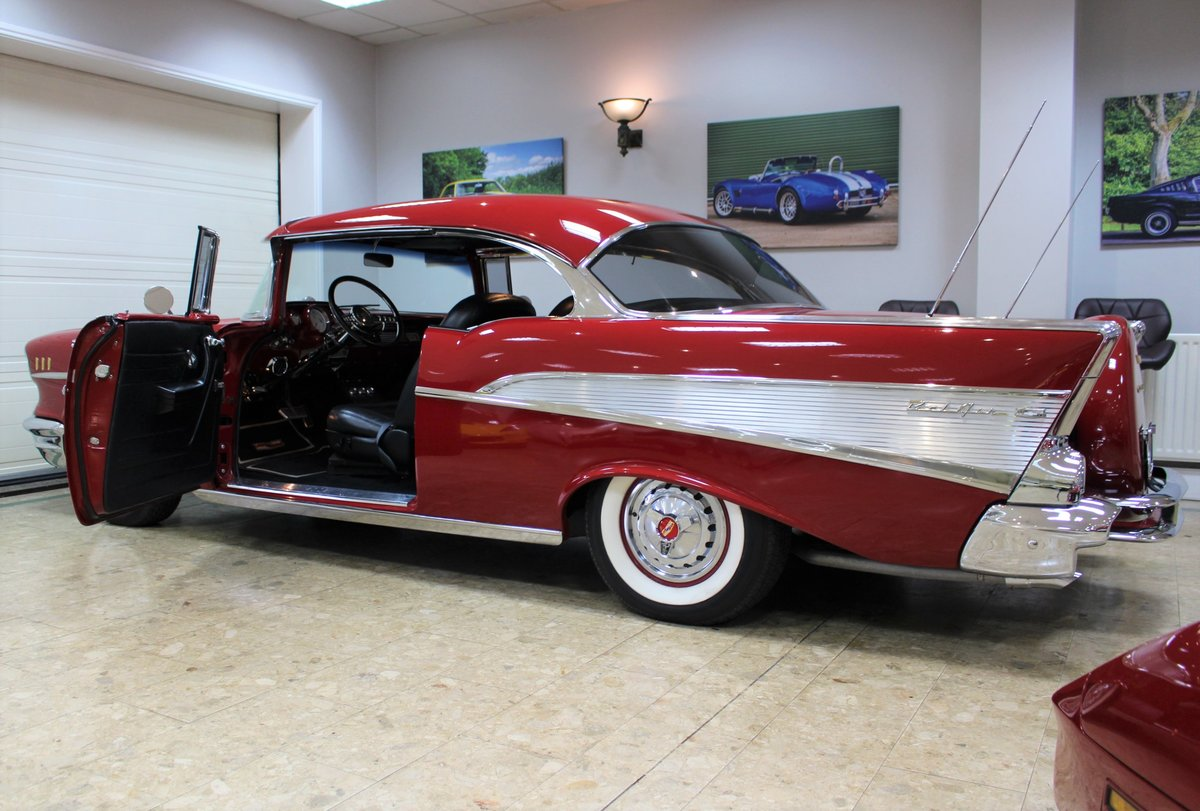 1957 Chevrolet Bel-Air Restomod Coupe LT1 5.7 V8 Auto For Sale (picture 13 of 25)