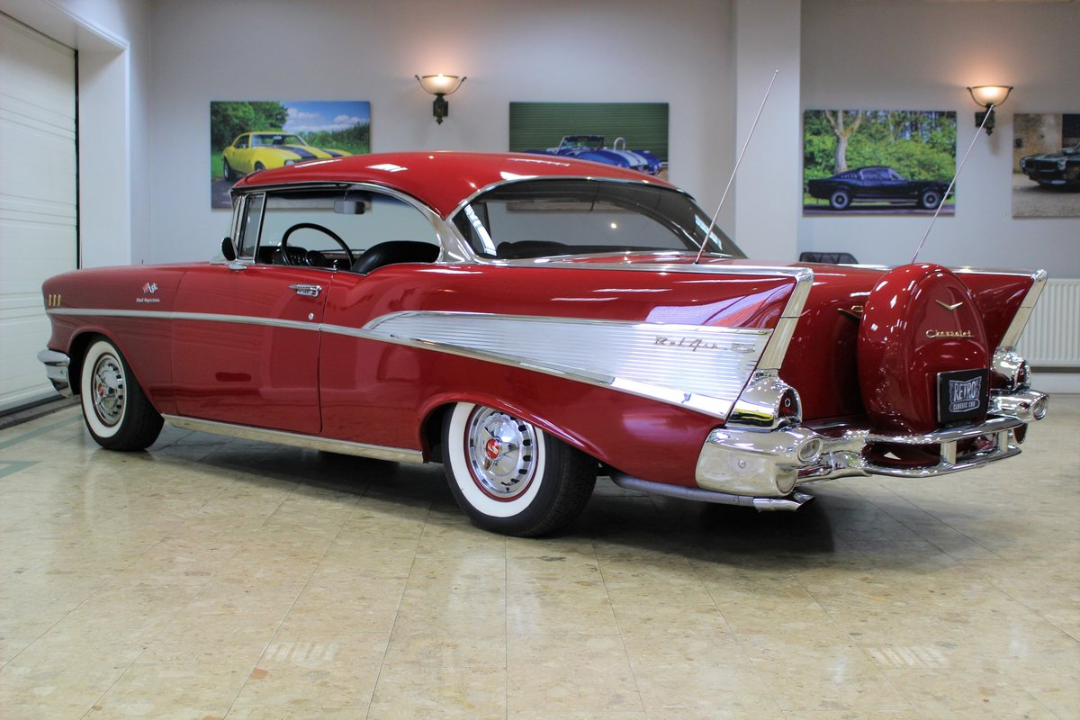 1957 Chevrolet Bel-Air Restomod Coupe LT1 5.7 V8 Auto For Sale (picture 18 of 25)