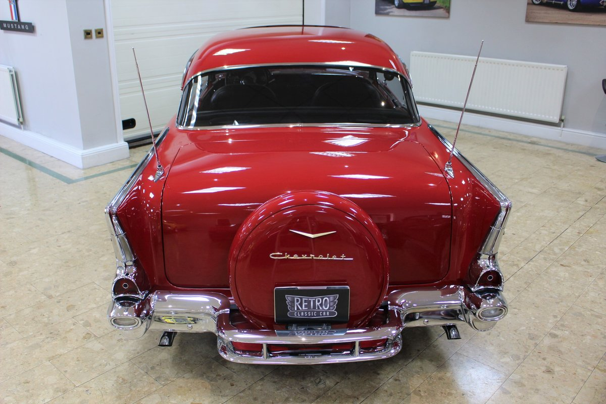 1957 Chevrolet Bel-Air Restomod Coupe LT1 5.7 V8 Auto For Sale (picture 19 of 25)