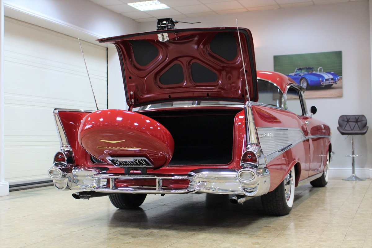1957 Chevrolet Bel-Air Restomod Coupe LT1 5.7 V8 Auto For Sale (picture 20 of 25)