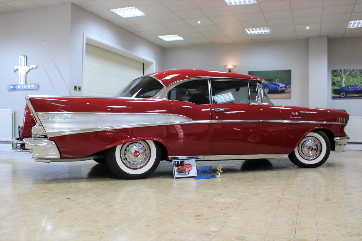 1957 Chevrolet Bel-Air Restomod Coupe LT1 5.7 V8 Auto For Sale (picture 23 of 25)