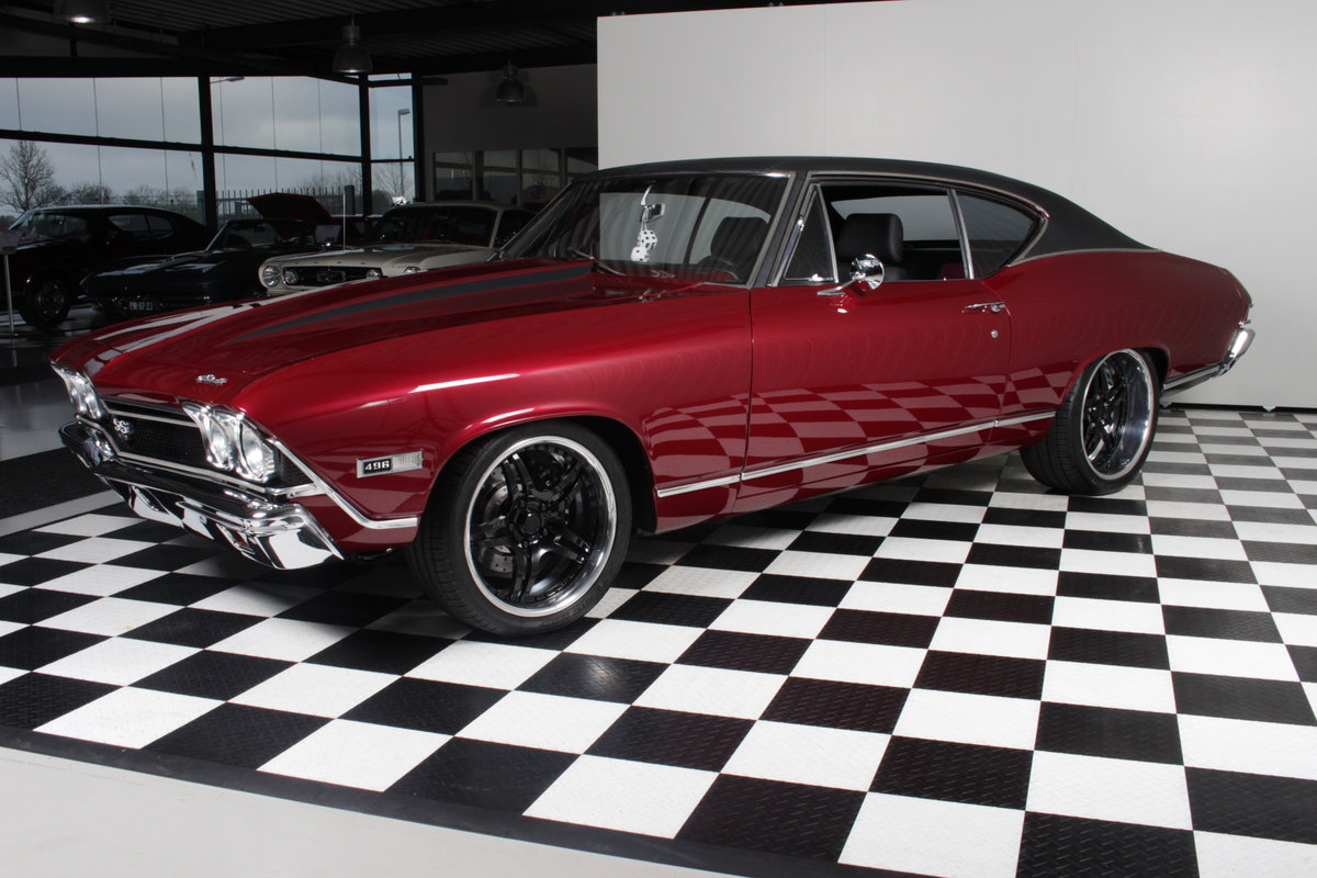 1968 Chevelle SS 496cui Big block Pro touring special ! For Sale (picture 4 of 12)