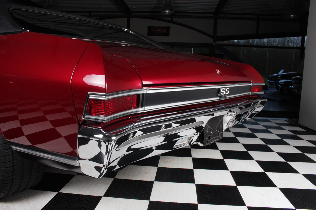 1968 Chevelle SS 496cui Big block Pro touring special ! For Sale (picture 7 of 12)