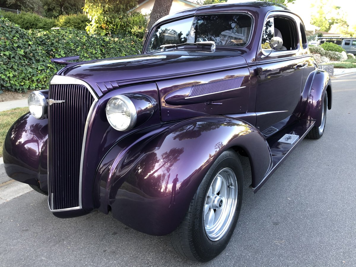 ***1937 Chevy Coupe ( All Steel ) For Sale (picture 1 of 9)