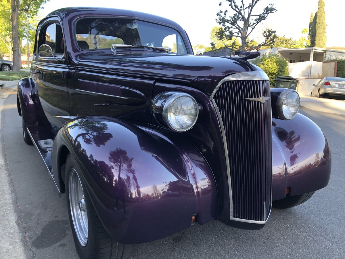 ***1937 Chevy Coupe ( All Steel ) For Sale (picture 3 of 9)