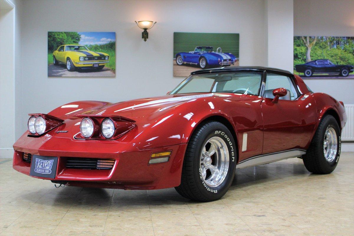 1981 Corvette C3 Restomod ZZ4 350 V8 Auto   Body off-rebuild For Sale (picture 1 of 25)