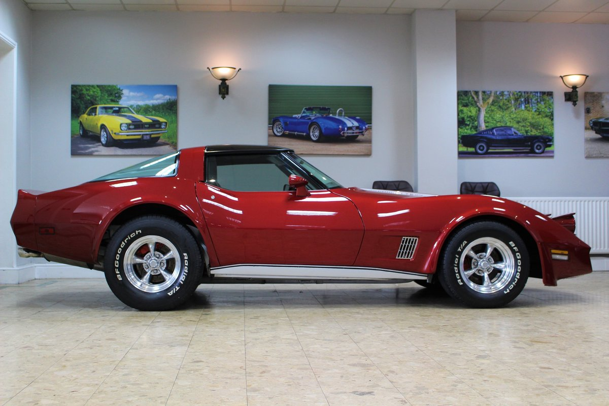 1981 Corvette C3 Restomod ZZ4 350 V8 Auto   Body off-rebuild For Sale (picture 6 of 25)
