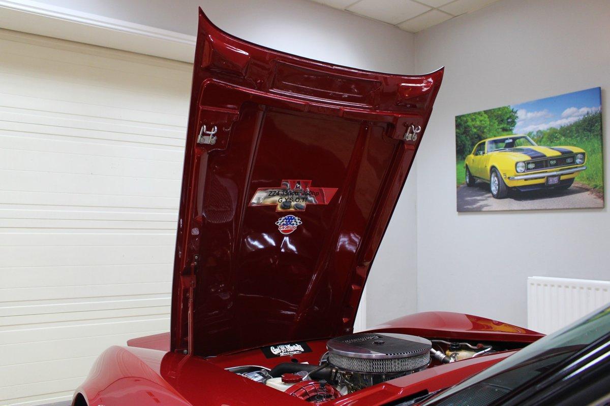 1981 Corvette C3 Restomod ZZ4 350 V8 Auto   Body off-rebuild For Sale (picture 7 of 25)