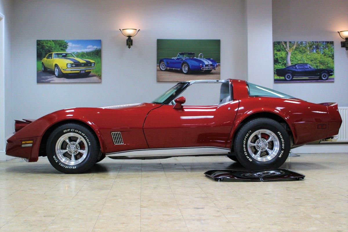1981 Corvette C3 Restomod ZZ4 350 V8 Auto   Body off-rebuild For Sale (picture 10 of 25)