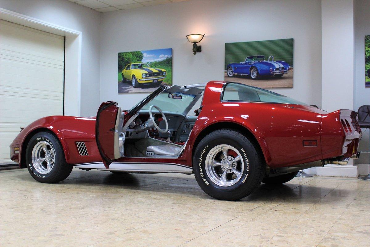 1981 Corvette C3 Restomod ZZ4 350 V8 Auto   Body off-rebuild For Sale (picture 11 of 25)