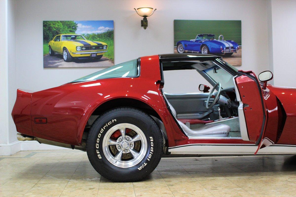1981 Corvette C3 Restomod ZZ4 350 V8 Auto   Body off-rebuild For Sale (picture 16 of 25)