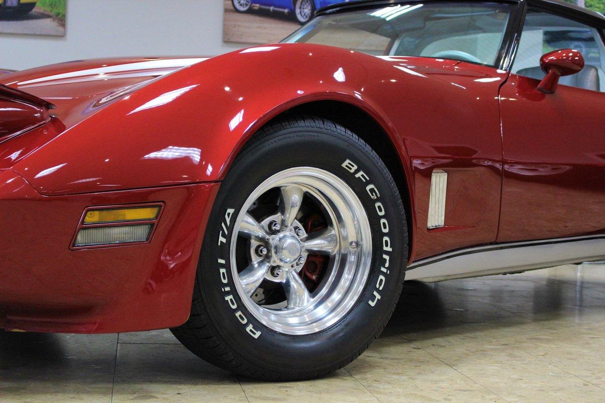1981 Corvette C3 Restomod ZZ4 350 V8 Auto   Body off-rebuild For Sale (picture 21 of 25)