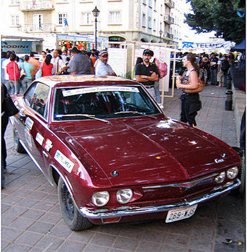 1965 Only Corvair To Start Or Complete Carrera Panamerica