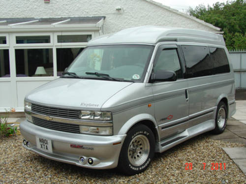 1996 Chevy Astro Conversion Van SOLD   Car And Classic