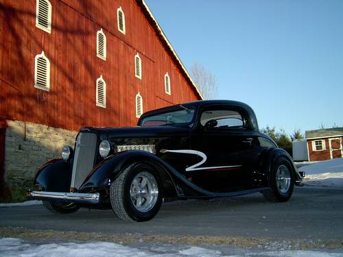 1935 Chevrolet  3-Window  Coupe For Sale (picture 1 of 6)