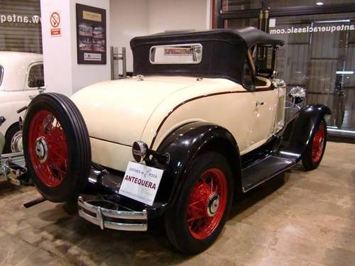 CHEVROLET INDEPENDENCE ROADSTER - 1931 For Sale (picture 2 of 6)