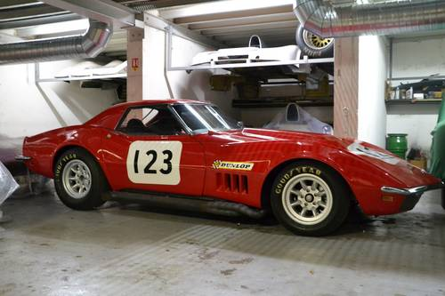 1968 CHEVROLET CORVETTE L89 RACING CONVERTIBLE For Sale (picture 1 of 6)