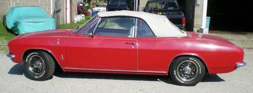1966 Chevrolet Corvair Convertible For Sale (picture 1 of 6)