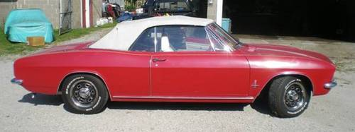 1966 Chevrolet Corvair Convertible For Sale (picture 2 of 6)