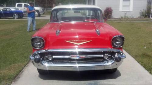 1957 Chevrolet 2DR HT For Sale (picture 3 of 4)
