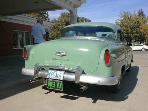 1954 Chevrolet Deluxe 4DR Sedan For Sale (picture 3 of 6)