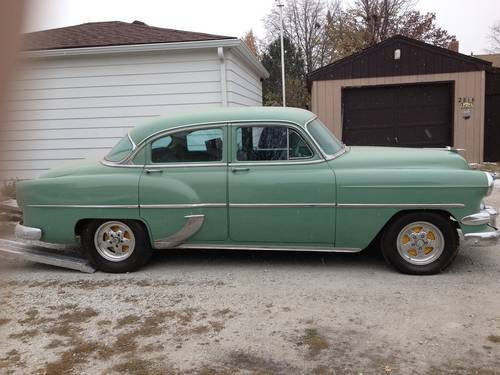 1954 Chevrolet Deluxe 4DR Sedan For Sale (picture 5 of 6)